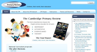 Primary review web site image