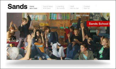 Sands web site