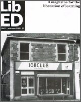 Lib Ed Magazine cover